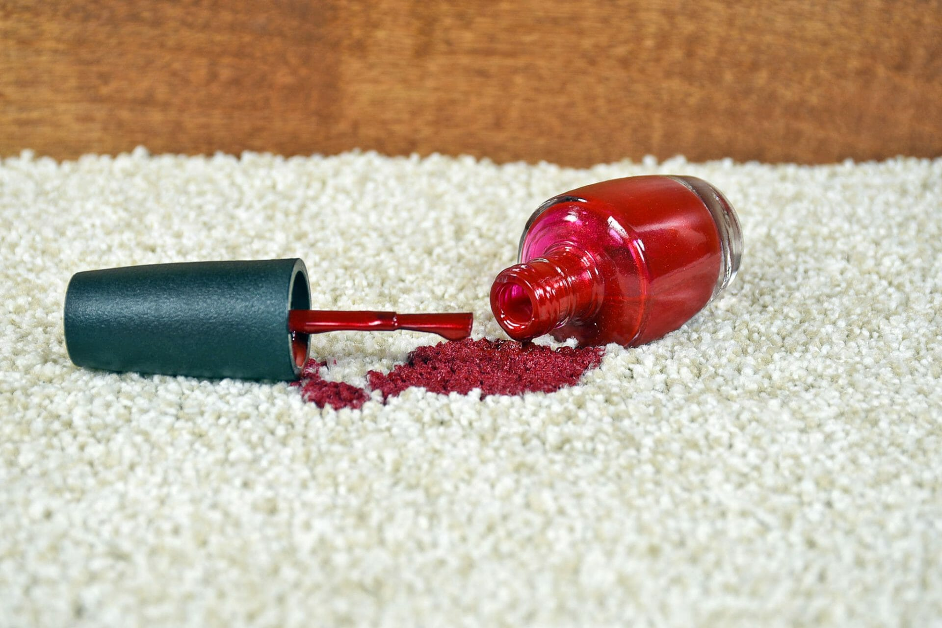 How to get nail polish out of clothes without acetone